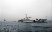 Tàu Cảnh sát biển 4036 cứu nạn thành công 4 người trên biển