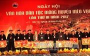 Khai mạc Ngày hội văn hóa dân tộc Mông năm 2017