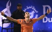 Roger Federer bị 'đá văng'khỏi Dubai bởi tay vợt hạng 116 thế giới