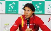 Tây Ban Nha thiếu Nadal ở tứ kết Davis Cup gặp tuyển Serbia