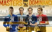 Federer, Nadal và Djokovic rơi vào 'nhánh đấu tử thần'