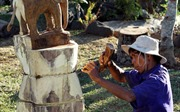 Hội thi tạc tượng gỗ dân gian các dân tộc Tây Nguyên
