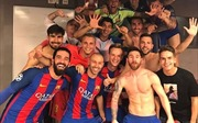 Vừa vào tứ kết, chiến thắng của Barcelona đã vô địch trên Twitter
