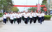 Khởi động Ngày chạy Olympic Vì sức khỏe toàn dân từ A Lưới