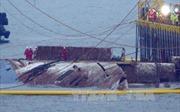 Hàn Quốc bắt đầu lai dắt phà chìm Sewol