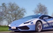 Cảnh sát Italy được trang bị siêu xe Lamborghini để săn đuổi tội phạm