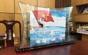Bán đấu giá bức tranh cát 'Gạc Ma – Vòng tròn bất tử' tại Hàn Quốc