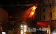 Kí túc xá sinh viên Nha Trang cháy lớn trong đêm, 5 sinh viên bị thương nặng