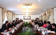 Lào đánh giá cao hợp tác giữa 2 Văn phòng Chủ tịch nước Việt - Lào