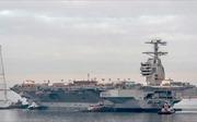 Mỹ lần đầu chạy thử nghiệm tàu sân bay không đối thủ