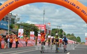 Trần Nguyễn Duy Nhân về nhất chặng 2 trong cuộc đua xe đạp toàn quốc