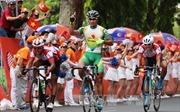 Đua xe đạp tranh cúp Truyền hình: Nguyễn Thành Tâm về nhất chặng 5