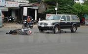 Ô tô tông xe máy, 4 người thương vong