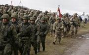 NATO triển khai nhóm binh sĩ Mỹ đầu tiên tới Ba Lan