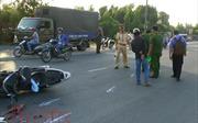 Bình Dương: Va chạm xe máy kinh hoàng, 5 người thương vong
