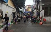 Chợ cóc ngang nhiên ở ngõ 74 đường Trường Chinh, Hà Nội