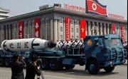 Triều Tiên sử dụng xe tải Trung Quốc trong lễ diễu binh