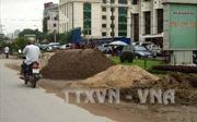 Hà Nội còn 173 bãi chứa vật liệu xây dựng trái phép