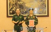 Thêm một sỹ quan Việt Nam tham gia gìn giữ hòa bình Liên hợp quốc