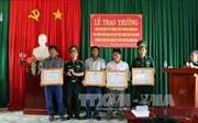 Khen thưởng ngư dân kịp thời cứu sống 30 thuyền viên gặp nạn