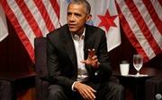 Ông Obama nhận gần nửa triệu đô cho bài phát biểu, bằng lương tổng thống cả năm