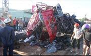 Hiện trường vụ tai nạn giao thông thảm khốc tại Gia Lai khiến 12 người chết