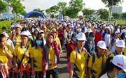 Hơn 5.000 người dân TP Hồ Chí Minh hào hứng đi bộ trong ngày cuối tuần nắng đẹp