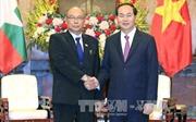 Chủ tịch nước: Việt Nam - Myanmar cần thúc đẩy hợp tác trên các lĩnh vực thế mạnh