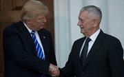 Xuất hiện nhiều quan điểm trái ngược giữa Tổng thống Trump và Bộ trưởng Quốc phòng Mỹ
