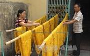 Thăng trầm nghề dệt nhiễu Hồng Đô