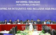 APEC 2017: Đối thoại xây dựng châu Á - Thái Bình Dương gắn kết và bao trùm