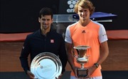 Hạ gục đàn anh Djokovic, Zverev giành cúp vô địch Rome Masters