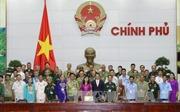 Phó Thủ tướng Vũ Đức Đam tiếp đoàn đại biểu người có công Lạng Sơn và Quảng Nam