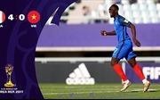 'U20 Việt Nam thua U20 Pháp 0-4 không phải là thảm họa'