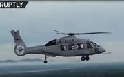Trực thăng mới nhất của Nga lần đầu quần thảo bầu trời