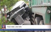 TP Hồ Chí Minh: Tai nạn liên hoàn, ô tô Mercedes bẹp dúm