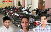 Đồng bọn đối tượng gây ra 33 vụ trộm xe máy ra đầu thú