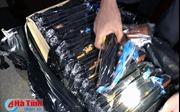 Hà Tĩnh bắt quả tang xe khách vận chuyển 148 khẩu súng bắn đạn nhựa