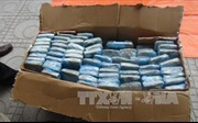 Hà Nội: Cảnh sát nổ súng vây bắt đối tượng ôm 29 bánh heroin