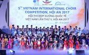 Vinschool One đạt 2 giải Vàng tại Hội thi Hợp xướng quốc tế Interkultur 2017