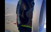 Cận cảnh lỗ hổng toang hoác buộc máy bay Airbus Trung Quốc hạ cánh khẩn ở Sydney