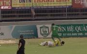 Cầu thủ Trần Chí Công bị cấm thi đấu 3 trận