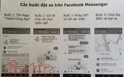 Lần đầu tiên có thể đặt taxi truyền thống qua mạng xã hội Facebook