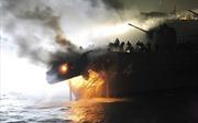 Những vụ tàu chở hàng đâm tàu chiến kinh hoàng trong lịch sử
