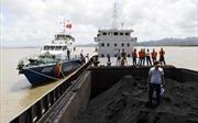 Cảnh sát biển bắt giữ 600 tấn than cám