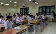 Các thí sinh tốt nghiệp THPT quốc gia bắt đầu thi tự luận Ngữ văn