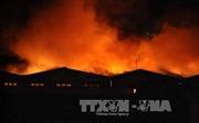 Cháy dữ dội trong đêm tại khu vực cảng Sài Gòn