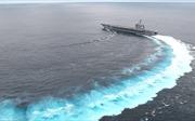 Màn phô diễn kinh ngạc của tàu sân bay Mỹ USS Abraham Lincoln tải trọng 100.000 tấn