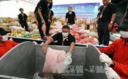 Myanmar và Thái Lan tiêu hủy số ma túy trị giá 1 tỷ USD