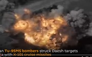 Tên lửa Kh-101 huỷ diệt mục tiêu IS, Tổng thống Putin khen ngợi độ tin cậy cao